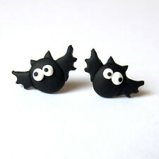Bat Earrings Funny Party Dress Gift Scary Black Vampire Horror Earrings Jewelry