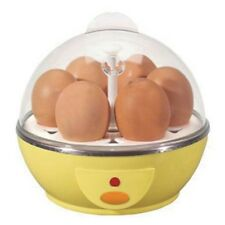 Electric Egg Boiler Cooker - Cooks up to 6 eggs hard or soft boiled or poached!