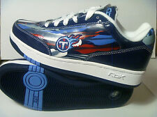 Tennessee Titans Reebok Recline Paint Shoes -Mens Size 9 NFL Sneakers