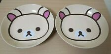 NEW Rilakkuma Pasta Plate Big Face Dish SAN-X Japan LAWSON Korilakkuma Set