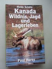 Kanada Wildnis Jagd Lagerleben Als Frau unter Bären Elchen Wölfen 1993 Schütz