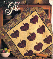 Dutch Apple Pie Quilted Wall Hanging - 0082