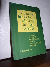A Christian Introduction to Religions of the World by Johannes  Vos  (PB,1974)