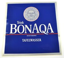Großer Coca Cola Bonaqa Deutschland 20 x 20 cm Aufkleber Sticker Decal Germany