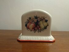 Avon 2003 Sweet Country Harvest Napkin Holder