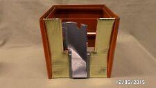 665D Vtg Northwestern Gumball Vending Machine Red/Gold Base Part Morris Illinois