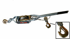 2 TON HEAVY DUTY CABLE PULLER HAND WINCH FENCING TURFER FOR CAR BOAT TRAILER