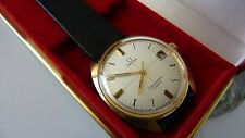 Omega Seamaster Cosmic hand winding men's watch gold plated pristine condition