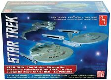 AMT Star Trek The Motion Picture -3 ship set Enterprise, Reliant, K'Tinga 1/2500