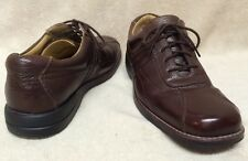 Dockers Brown Pebble Grain Leather Oxfords Men 12 Pro Style All Motion Comfort
