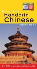 Essential Mandarin Chinese Phrase Book Essential Phrasebook Series