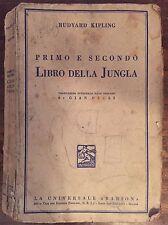 PRIMO E SECONDO LIBRO DELLA JUNGLA