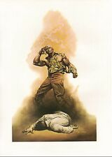"1978 Full Color Plate ""The Boss of Terror Doc Savage"" by Boris Vallejo Fantastic"
