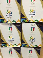 6 Boxes of Italia Team Rio 2016 Stickers 300 Packs WHOLESALE CLEARANCE