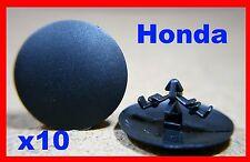 10 Honda Forro De Capucha Capó Cubierta de aislamiento de sonido Sujetador Clips Pins