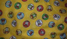 """Thomas the Tank Engine & Friends Train Fabric Cotton V.I.P. 44"""" Wide By The Yard"""