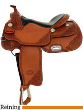 "NEW 16"" Billy Cook Reining Saddle - Pro Reiner"