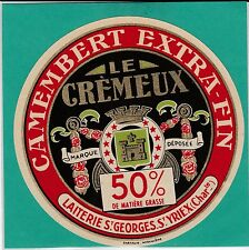 F 501 FROMAGE CAMEMBERT SAINT GEORGES  SAINT YRIEX  CHARENTE  EMBLEME