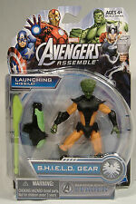 LEADER AVENGERS ASSEMBLE SHIELD GEAR RADIATION ROCKET MARVEL UNIVERSE FIGURE MIP