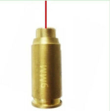 Hunting Red Laser sight Bore Sighter for 9mm Cartridge brass bore sighter 9MM