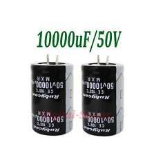 1Pcs*10000uF 50V Electrolytic radial Capacitor DIP NEW 1pcs  free ship