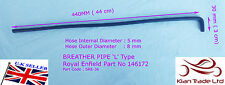 ROYAL ENFIELD PART 146172/C BREATHER PIPE 'L' TYPE THIN BULLET 350/500CC(SRE 36)