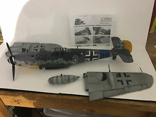 "21st Century Toys 1/18 scale WWII ME Bf 109G-6 Green Hearts ""Black 8"""