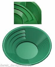 "INTERNATIONAL SE 14"" PANNING GOLD PAN - GREEN"