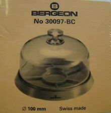 Bergeon Round Dust Cover with Tray