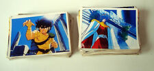 LOT DE 113 IMAGES STICKERS PANINI - LES CHEVALIERS DU ZODIAQUE SAINT SEIYA