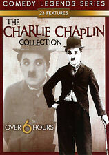 THE CHARLIE CHAPLIN COLLECTION (23 features - comedy legends series)