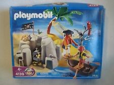 Playmobil 4139 Pirates Island Treasure 29 pieces 2008 NEW SEALED BOX