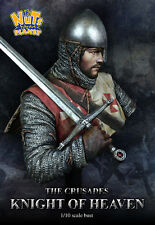 Nutsplanet Knight of Heaven Crusader Model Unpainted 1/10th scale bust kit