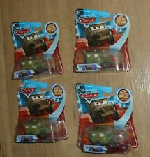 New Disney Cars no 116 Pit Crew Member Sarge Series 1 Eyes Change 3d damaged box