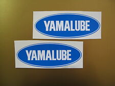 YAMALUBE sticker/ decal x2