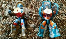 Vintage MOTU Figures Rokkon and Stonedar 1985 Masters of the Universe