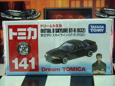 TOMICA #141 INITIAL D SKYLINE GT-R (R32) SCALE NEW IN BOX DREAM TOMICA SERIES