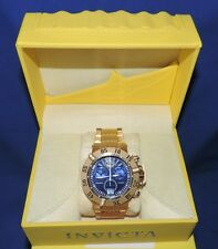 Mens Invicta 17617 Subaqua Swiss Quartz Gold Watch with Case