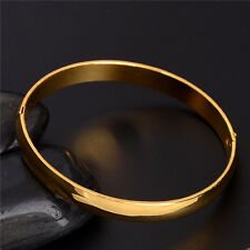 Fashion and new jewelry 18K Gold Filled classic lady's bangle bracelet