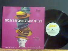 BUDDY GRECO   At Mister Kelly's  LP  Jasmine label   NEAR-MINT !!