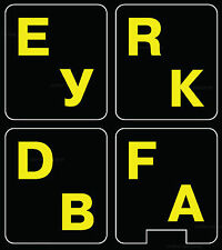 Russian English  Fluorescent glowing keyboard sticker