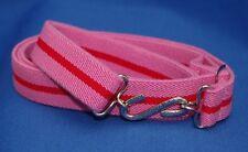 Adulto ragazzo uomo Girls Rosa Rosso Elasticizzato Serpente Cintura XL XXL XXXL 30 a 60 in pr
