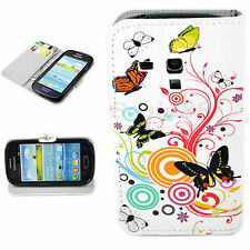 Lovely Phone Leather Wallet GEL Cover Case For Samsung Galaxy S3 SIII Mini i8190