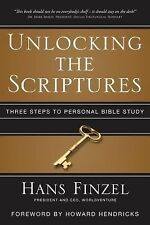 Unlocking the Scriptures: Three Steps to Personal Bible Study-ExLibrary