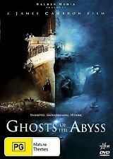 Ghosts if the Abyss DVD 2 DISKS - JAMES CAMERON TITANIC SEARCH NEW & SEALED
