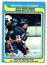 1X MIKE BOSSY 1979-80 OPC #161 VG O Pee Chee NY ISLANDERS