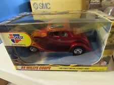 First Gear CarQuest Auto Parts '33 Willys Coupe Die Cast Red