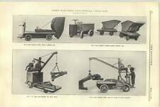 1921 Electric Industrial Vehicles Yale Hauling Dumping Jib Crane