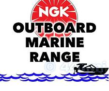 NEW NGK SPARK PLUG For Marine Outboard Engine JOHNSON 4hp 77-- 87