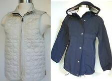 NEW AUTHENTIC COACH 2 Piece Milk White Quilted vast and Navy Blue Jacket XS $428